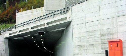 Tunnelportal Lungern